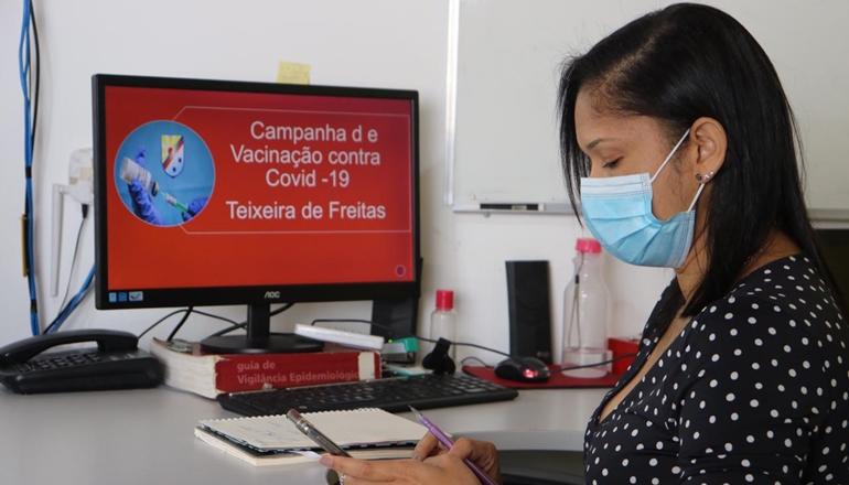 Vacina Covid-19: Imunização começa quarta-feira com idosos e profissionais da saúde em Teixeira de Freitas