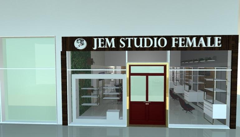 Agora é para elas: inaugura nesta quarta-feira (09) Jem Studio Female no Pátio Mix de Teixeira