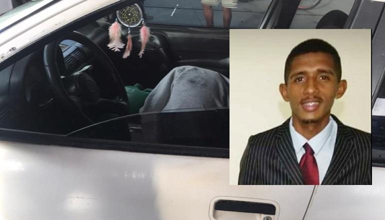 Homem é morto a tiros quando abastecia o carro no Posto no Centro de Teixeira de Freitas