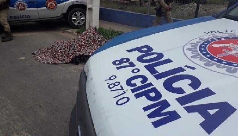 Adolescente é assassinado enquanto andava de bicicleta em bairro de Teixeira
