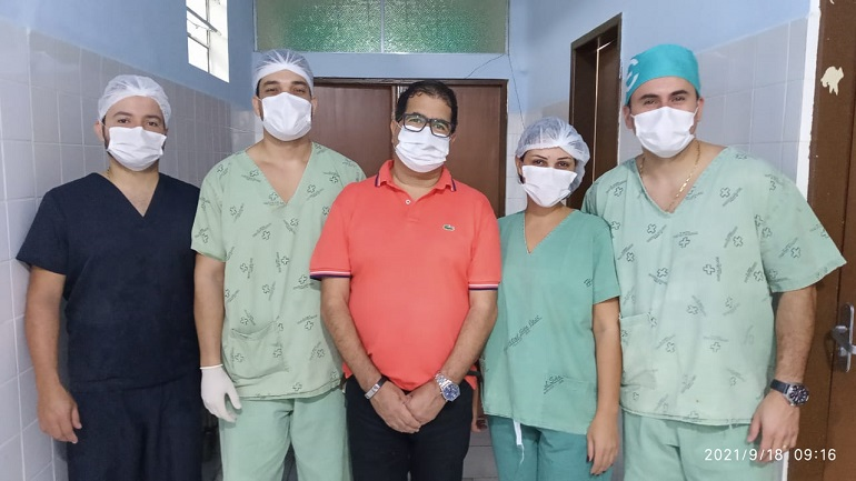 Mucuri realiza novas cirurgias de vesícula por videolaparoscopia minimamente invasiva no HSJ em Itabatã