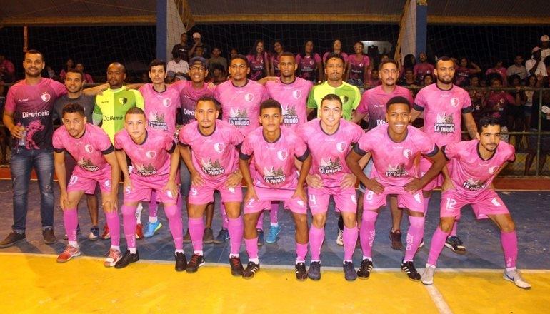 Bambis e Cocobongo  na grande final do Campeonato Regional de Futsal de Alcobaça