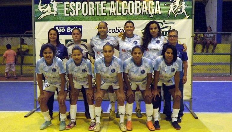Teixeira de Freitas vence Torneio Regional de Futsal Feminino em Alcobaça
