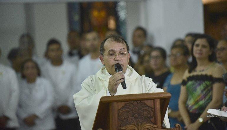 A data da Posse de Pe. Edivaldo como pároco da Catedral São Pedro foi divulgada