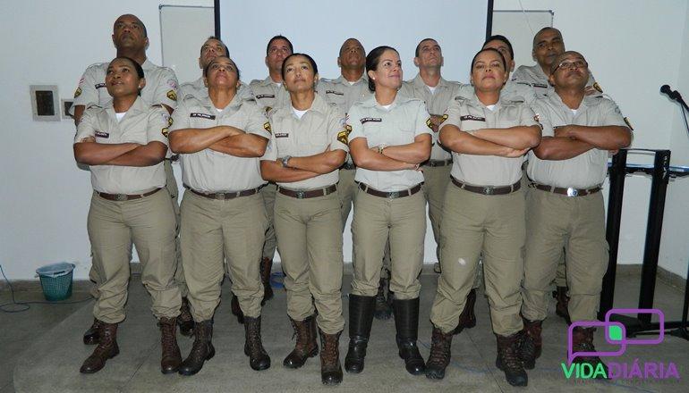 13° BEIC realiza a formatura de 13 novos Cabos PM em Teixeira de Freitas