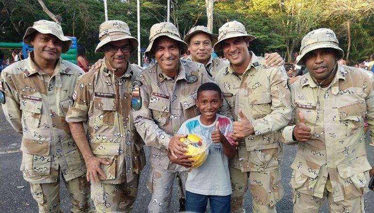 CAEMA realiza festa para 400 crianças quilombolas