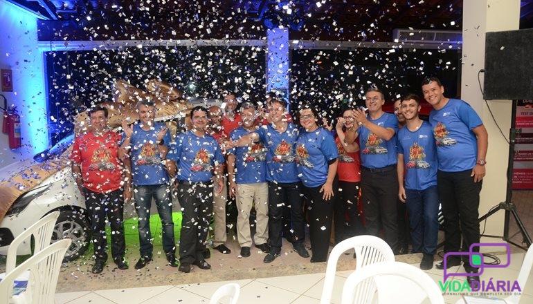 Em noite especial, CDL lança oficialmente Campanha do Natal 2018 para toda a comunidade teixeirense; serão sorteados 03 carros
