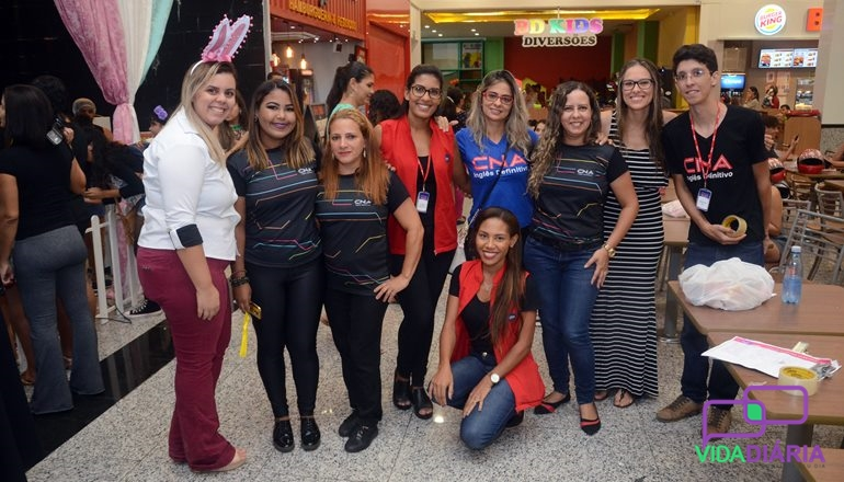 CNA e Pátio Mix realizaram a Páscoa Divertida; o evento contou com diversas atividades para as crianças