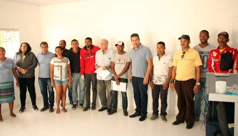 Inaugurado o posto eleitoral em São José de Alcobaça
