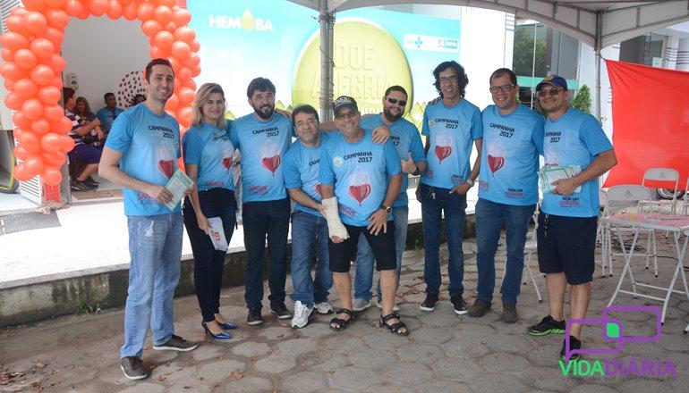 """Entidades e Hemoba promovem o dia """"D"""" da campanha de doação de sangue neste sábado (02)"""