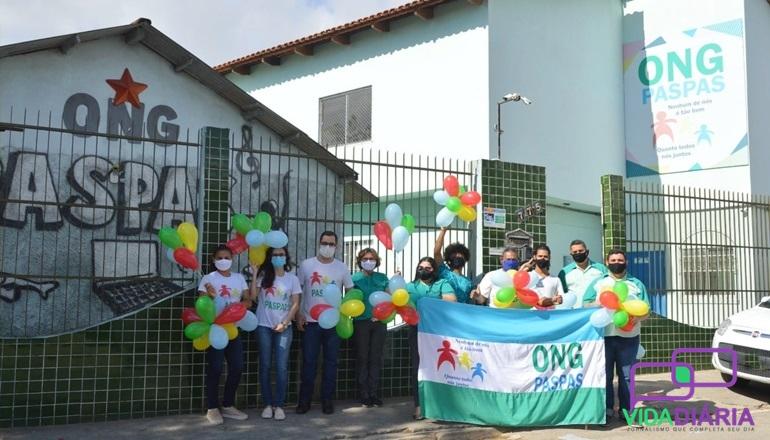Teixeira: Ong Paspas comemora 20 anos e presenteia beneficiários com uma cozinha e refeitório