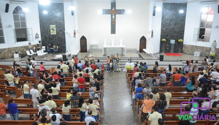 A Igreja São Francisco realizou o seminário para as famílias