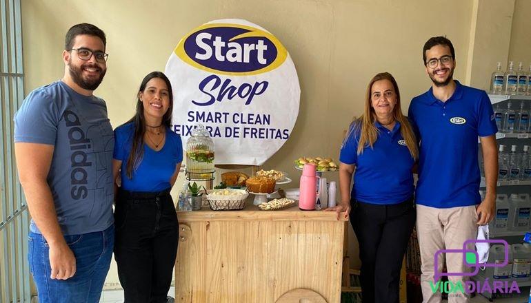 Inaugurada em Teixeira a mais nova loja da Start Shop produtos de limpeza; venha conhecer