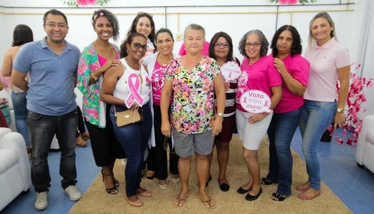 UNACON de Teixeira de Freitas promove dia todo especial para pacientes oncológicas